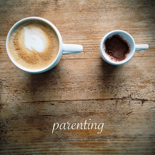 Coffee and parenting