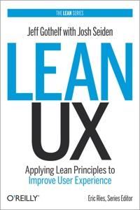 Lean UX cover