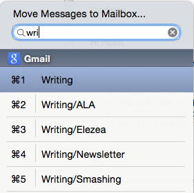 Move messages