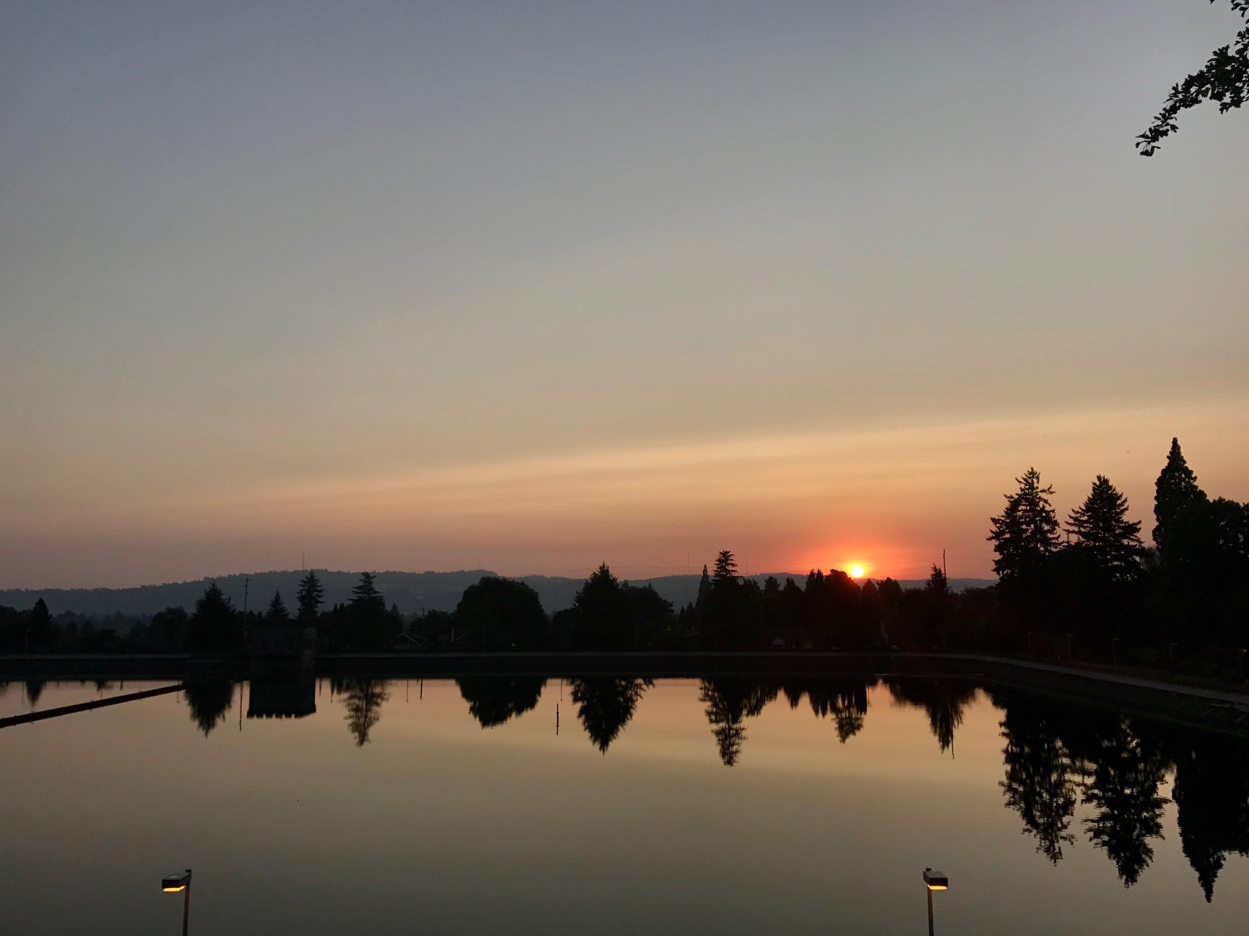 Twilight at Mt. Tabor